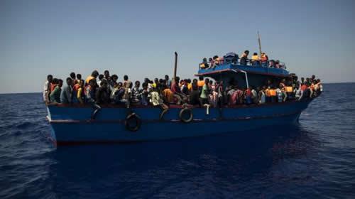 غرف شدن کشتی در مدیترانه