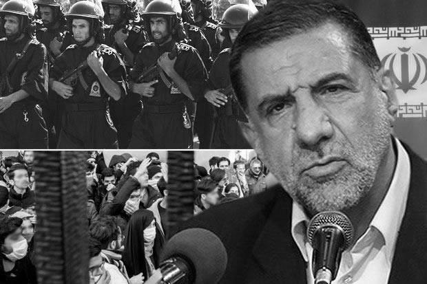 Brigadier General Esmail Kowsari warned of an 'iron fist' to crush protests