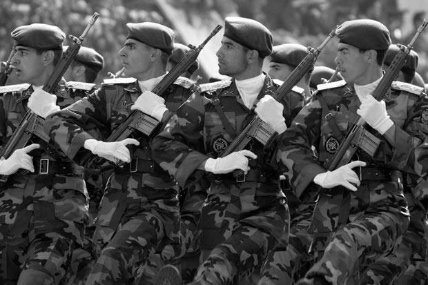 IRON FIST!! Iran's elite Revolutionary Guard are one of the nation's most powerful organisations