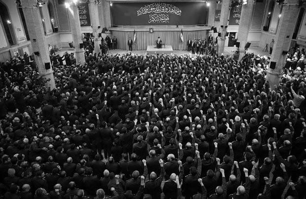 REVOLUTIONARY GUARD: The Iranian religious army is loyal only to the Ayatollah