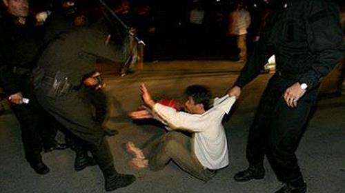 The Iranian Revolutionary Guards Corps, and its subservient Basij militia, crackdown down hard on any form of dissent