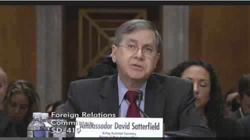دیوید ساترفیلید معاون وزیر خارجه آمریکا
