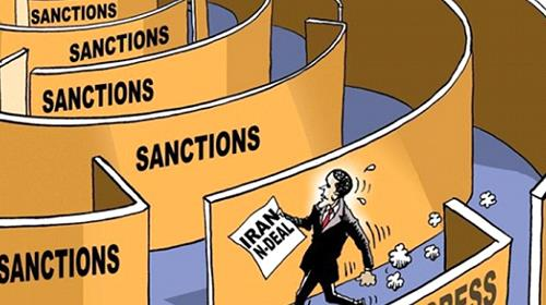 What prevents implementation of Iran deal?