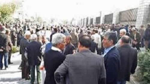 حمایت کارگری از قیام ایران