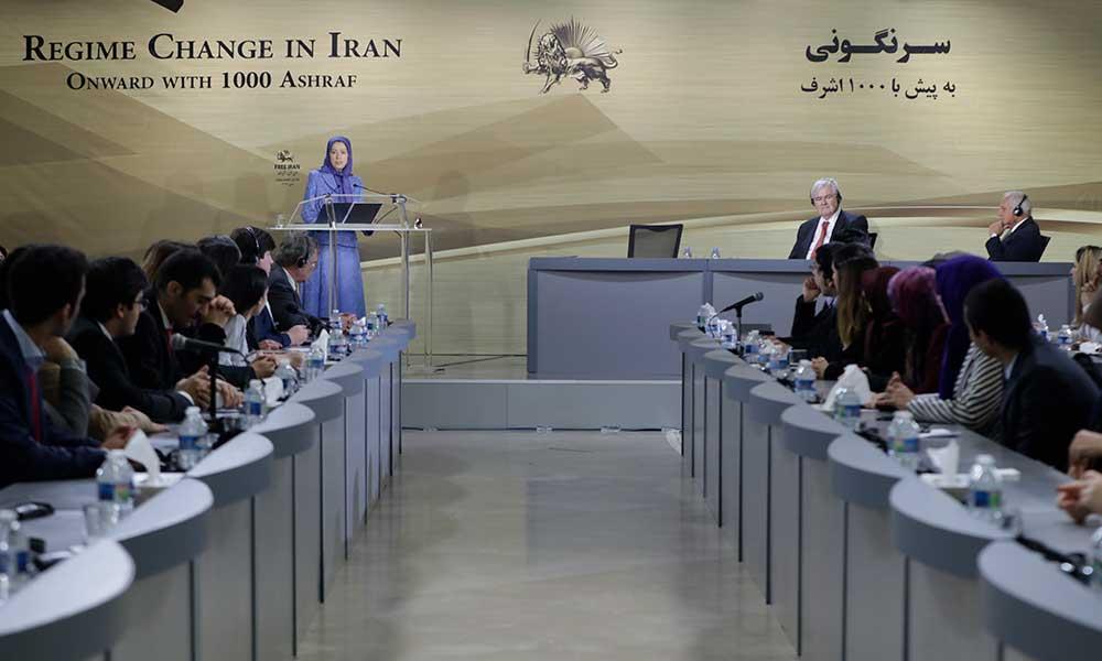 مریم رجوی: قیام ایران، آغاز دوران پیشروی