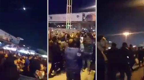 Kermanshah, security forces attack peaceful demonstrators arresting a number of them