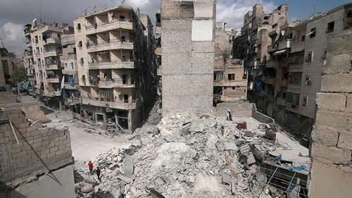 بمباران شهرهای سوریه