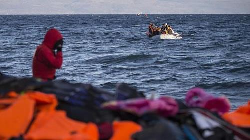 مهاجرین در دریای مدیترانه