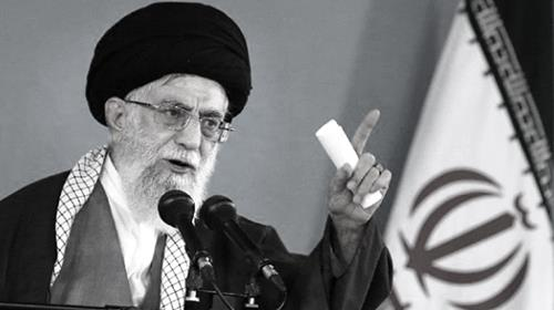 Ali Khamenei warned that  some  world powers are not to be trusted