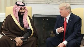 دیدار لیعهد عربستان با دونال ترامپ