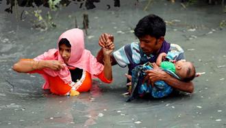 كسازي قومي روهينگيايي ها در ميانمار