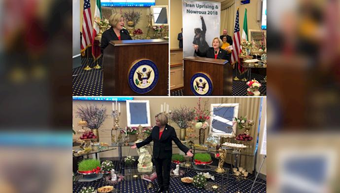ایلیانا رزلهتينن عضو برجسته كميته روابط خارجي مجلس نمايندگان آمريكا