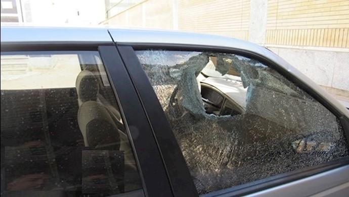 گچساران.تهاجم افراد ناشناس به رییس اداره کار  رژیم در این شهر