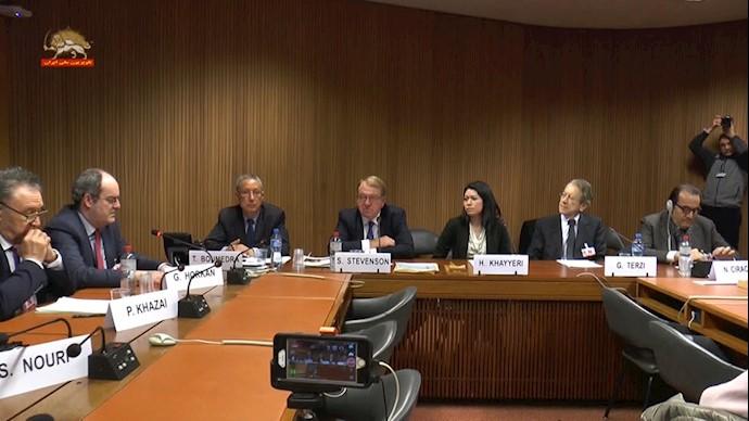 ژنو - کنفرانس وضعيت حقوق بشر در ایران پس از قيام