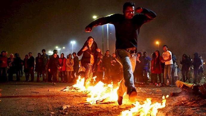 چهارشنبه سوری - شعلهور کردن اعتراضات اجتماعی
