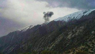 سقوط هواپیمای ترکیه یی در ایران