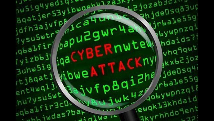 حملات سایبری رژیم