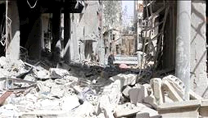 کشته شدن 25غیرنظامی در حمله جنایتکارانه رزیم اسد به غوطه شرقی