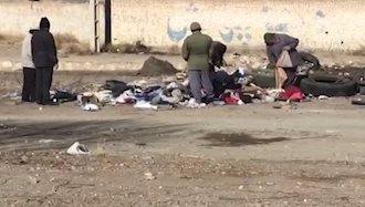 زباله گردی مردم دلیجان