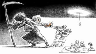 حکومت آخوندی مسسب تورم و فقر خانوادههای ایران