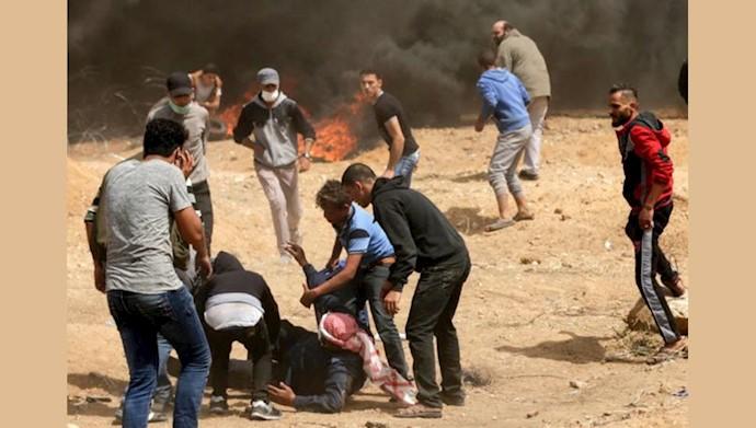 500مجروح در سومین هفته تظاهرات در فلسطین