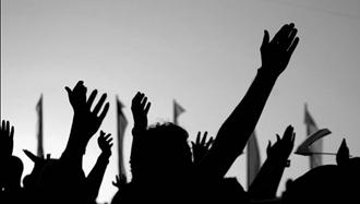 ایستادگی کارگران ایرانی