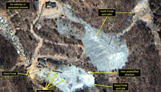 سایت اتمی یونجی ری در کره شمالی