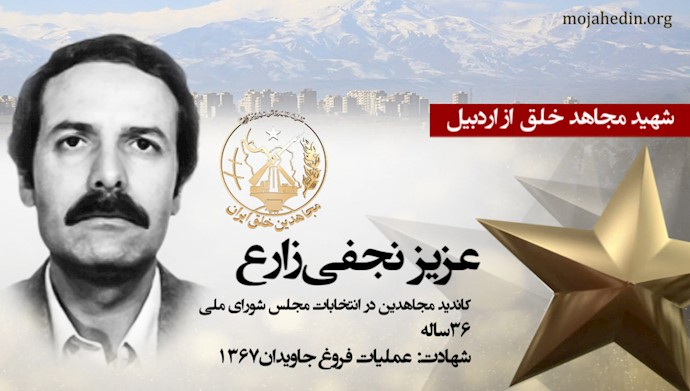 مجاهد شهید عزیز نجفی زارع