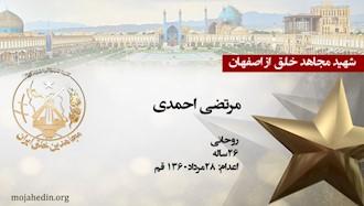 مجاهد شهید مرتضی احمدی