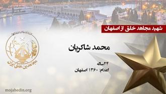 مجاهد شهید محمد شاکریان