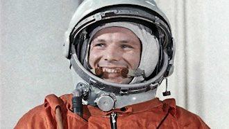 انسان برای نخستین بار به فضا پرواز کرد