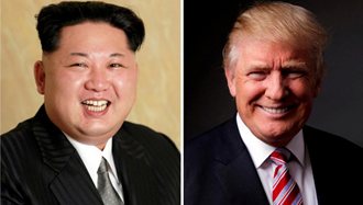 دونالد ترامپ و كيم جونگ اون
