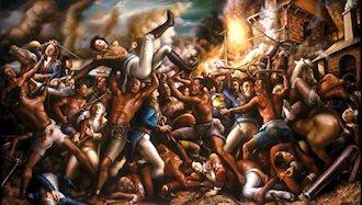 آغاز قیام بردگان در آمریکا