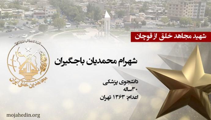 مجاهد خلق شهرام محمدیان باجگیران