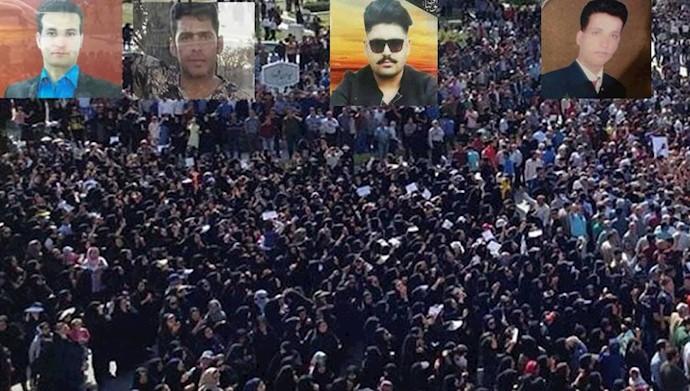 تظاهرات مردم کازرون