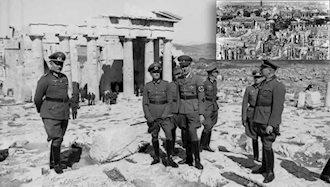 یونان به دست نیروهای هیتلر اشغال و بلگراد بمباران شد