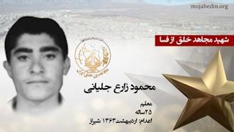 مجاهد شهید محمود زارع جلیانی