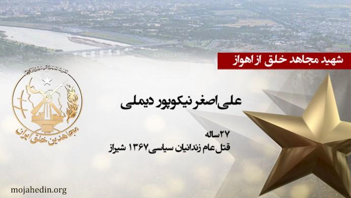 مجاهد شهید علیاصغر نیکوپور دیلمی
