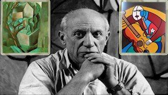 پیکاسو؛ بانی مکتب کوبیسم، ازتابلوی زندگی رفت