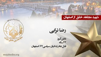 مجاهد شهید رضا ترابی