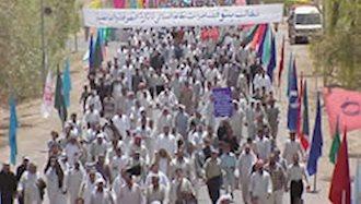 پیمان دوستی بیش از 30 هزار شهروند عراقی در شهر اشرف با مجاهدین