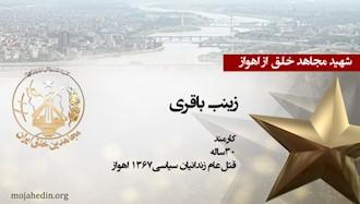 مجاهد شهید زینب باقری