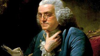 بنجامین فرانکلین، از بانیان انقلاب آمریکا درگذشت