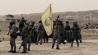 مزدوران عراقی رژٰیم ایران موسوم به نجبا