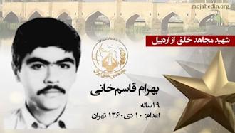 مجاهد شهید بهرام قاسمخانی