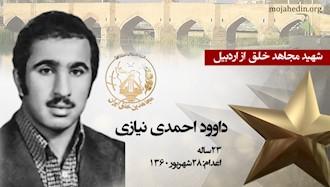 مجاهد شهید داوود احمدینیازی