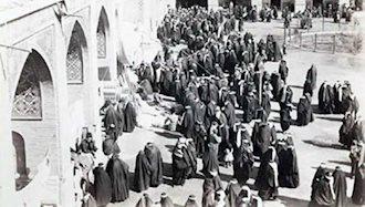 شورش زنان اصفهان علیه فقر وکمیابی نان