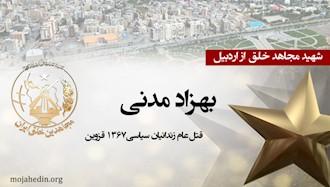 مجاهد شهید بهزاد مدنی