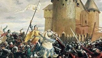 ژاندارک، قهرمان ملی فرانسه
