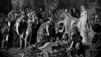 اسکندر مقدونی، مغلوب مرگ شد